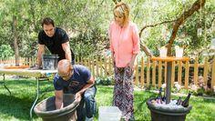 DIY Outdoor Entertainment Table - Home & Family | Hallmark Channel