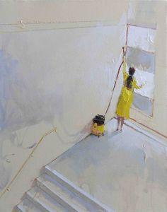 Artist - Stojan Milanov Serbian Painter.