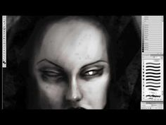"""Here is Menton3's newest """"speed painting"""" video. I love watching these, almost as much as I love his art."""