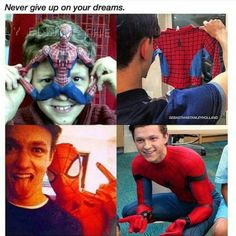 Tom Holland is an inspiration