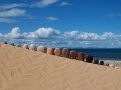 AmMeer 342 Creations in Nature by Dietmar Voorwold on the Moray Coast.
