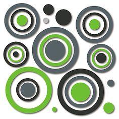 Leroy Merlin - Sticker All Around Stickers  gomma 28,5 x 28,5 cm - 27 elementi  9,99 euro - leroy merlin