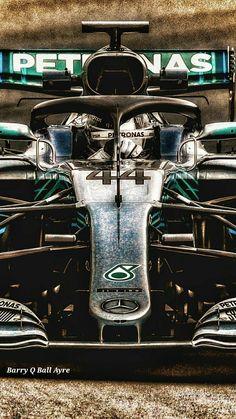 Lewis Hamilton's Mercedes for the 2018 season
