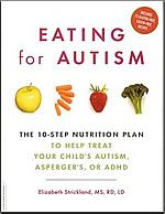 ASD Puzzle - Nutrition Therapy and Seminars and Eating for Autism...so excited!! Just got this book in, and can't wait to finish so I can really get Jaxon's diet tuned to his needs. This came highly recommended from the director of the rehab center we use. The author, Elizabeth Strickland, specializes in nutrition therapy for children on the spectrum.