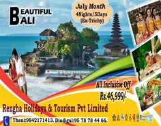 The Best Bali Tour Package Inclusive of Flight Tickets, Hotels, Sightseeing,Transfer & Meals .Book Now! Bali Tour Packages, Rice Terraces, Paradise On Earth, Sandy Beaches, Tourism, Flight Tickets, Island, More, Holiday