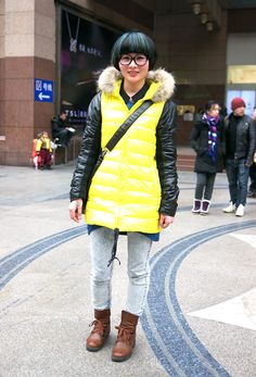 Fashionista in Shanghai | Street Style 2013 - http://www.lelook.eu