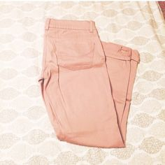 Pale pink denim skinny jeans Size 9. 98% cotton never worn SO Jeans Skinny