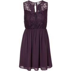 8e10eb8657b688 Vero Moda Josefine Lace S L Dress ( 46) ❤ liked on Polyvore featuring  dresses