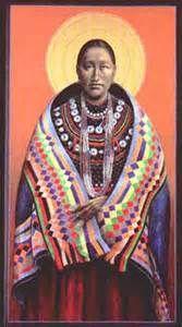 Potawatomi Virgin Mother © By Fr. John Giuliani