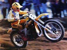 Bob Hannah Johnny Be Good, Mx Racing, Mx Bikes, Motocross Riders, Motorcycle Racers, Vintage Motocross, Dirt Biking, Sports Figures, Mini Bike