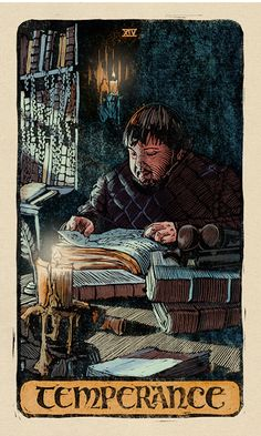 Samwell Tarly is the perfect Temperance card in the 'Game of Thrones' tarot deck. Game Of Thrones Cards, Arte Game Of Thrones, Game Of Thrones Artwork, Game Of Thrones Tattoo, Game Of Thrones Poster, Game Of Thrones Funny, Tarot Card Decks, Tarot Cards, Geeks