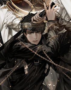 Dark Anime Guys, Cool Anime Guys, Handsome Anime Guys, Fantasy Character Design, Character Art, Anime Boy Zeichnung, Fantasy Art Men, Manga Boy, Boy Art
