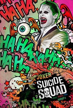 'Suicide Squad': See 11 Wild New Character Posters | Jared Leto as Joker | EW.com