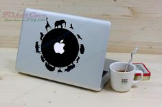 Circle of Life - Macbook Decal Mac Sticker Macbook Decals Macbook Stickers Apple Vinyl Decal for Apple Macbook Pro / Macbook Air / iPad. $6.99, via Etsy.
