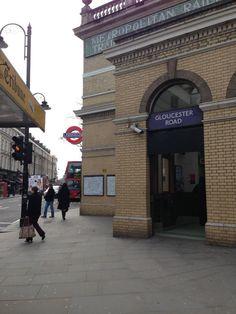 Gloucester Road London Underground Station - Kensington and Chelsea - London, Greater London