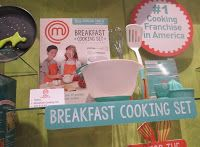 Master Chef Jr. Breakfast Cooking Set from Wicked Cool Toys as seen at Toy Fair NY 2016.  See more highlights from Toy Fair at http://www.grandmachronicles.com/2016/03/highlights-of-toy-fair-ny-2016.html