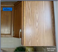 Quick Oak Cabinet Fix With Tiny Budget! :: Hometalk