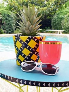 Grow a pineapple plant in a planter that looks like a pineapple >> http://www.diynetwork.com/how-to/outdoors/gardening/how-to-grow-a-pineapple-and-make-a-pineapple-planter?soc=pinterest