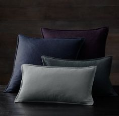 CASHMERE PILLOW COVERS Add a touch of luxury to the sofa, bed or a favorite reading chair with a pillow cover made of our pure, plush cashmere. Supremely cozy and simply elegant, the petite flange lends it a tailored flourish.