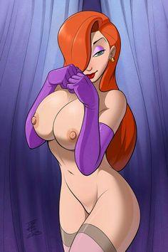 Anime 3d huge tits jessica rabbit like formal dress slutty