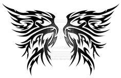 Phoenix Yin Yang Tribal by kuroakai on DeviantArt Hp Tattoo, Snake Tattoo, Cover Tattoo, Back Tattoo, Wing Tattoo Designs, Tattoo Sleeve Designs, Tattoo Designs For Women, Badass Tattoos, Leg Tattoos