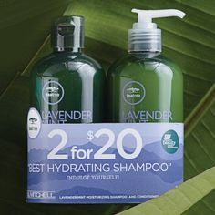 Paul Mitchell Lavender Mint Hydrating Shampoo and Conditioner Duo 10 oz -- More info could be found at the image url.