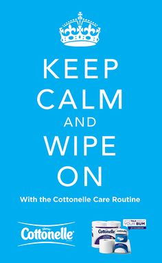 Keep Calm and Wipe On