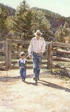 Steve Hanks - My Father My Son.    Reminds me of my grandfather and my brother