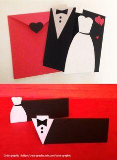 Pack mariage : faire part et marque places. par créa-graphic. http://www.alittlemarket.com/boutique/crea_graphic-1317933.html