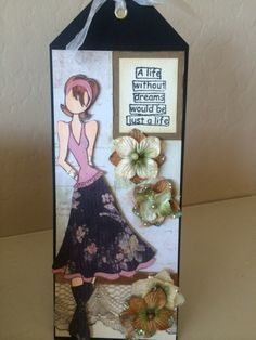 For the Simon says Wednesday Challenge - special lady (http://www.simonsaysstampblog.com/wednesdaychallenge/)