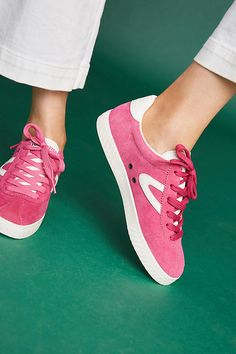 e7ebde91a Slide View  2  Tretorn Low Top Suede Sneakers Suede Sneakers