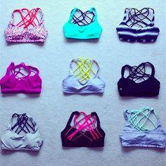 Gym Wear : lululemon free to be wild! My favorite sports bra! Workout Attire, Workout Wear, Workout Outfits, Athletic Outfits, Athletic Wear, Athletic Clothes, Sport Fashion, Fitness Fashion, Yoga Fashion