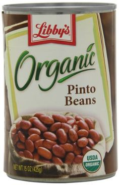 Libby's Organic Pinto Beans, 15-Ounces Cans (Pack of 12) - http ...