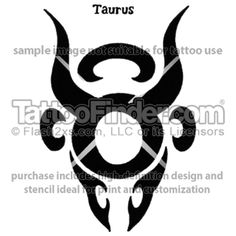Taurus Mask tattoo design by Brian Burkey