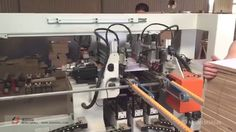 JESH Woodworking 5 lines drilling machine with auto feeding