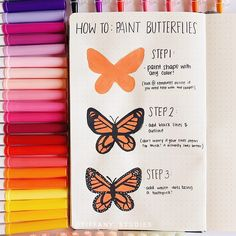 Butterflies seems so hard to make but with this Butterfly Painting tutorial by it now look so easy! Butterflies seems so hard to make but with this Butterfly Painting tutorial by it now look so easy! Simple Canvas Paintings, Easy Canvas Art, Small Canvas Art, Cute Paintings, Mini Canvas Art, Easy Canvas Painting, Mirror Painting, Diy Canvas, Diy Painting