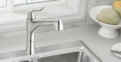 Elkay Echo kitchen pull-out faucet