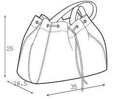Patrones de bolsos, adaptados a ti, de acuerdo a tus necesidades, elaborados en tu hogar lo que te permite hacer tus propios diseños
