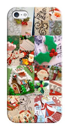 iPhone 5 and Android phones cover  Christmas by KikkaandTikka, $45.00
