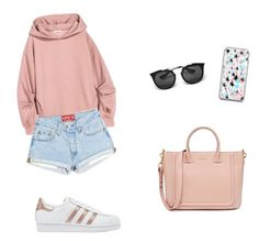 """""""Informal Style"""" by antoberneche on Polyvore featuring adidas Originals and Prada"""
