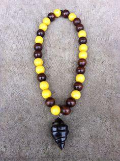 Balancing Beads: Bespoke Cow Horn Afrikan Artifact Fusion