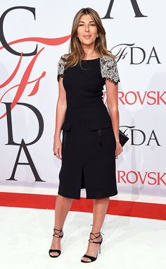Nina Garcia from 2015 CFDA Fashion Awards: Red Carpet Arrivals