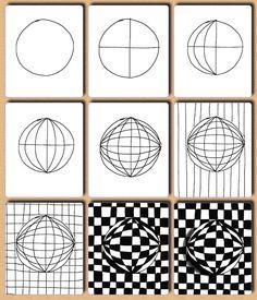 Link to OPTICAL ART LESSON http://juliannakunstler.com/art1_opt_des.html#.UjesPByI0nU