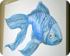 Painting with watercolor pencils. A how to.