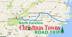 The Magical Road Trip Will Take You Through North Carolina's Most Charming Christmas Towns
