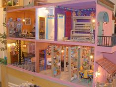 Casa Maria - Mexican Hacienda Doll House