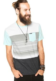 Camiseta Oakley Blocked O SP Multicolorida - Marca Oakley