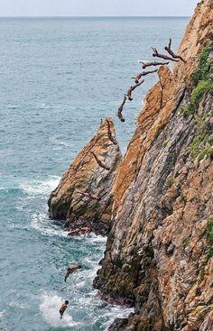 Cliff Dive Acapulco Mexico