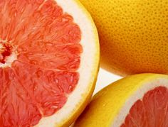 Eating half a grapefruit before a meal can help you consume less calories because its high in fiber and low in cals. this and other fun healthy eating facts.