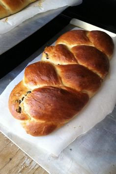 """Challah I   """"I had never made challah before, but I think this is a really good recipe. Next time I think I'll add a pinch more salt."""""""